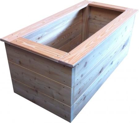 hochbeet balkonbeet aus l rchenholz online kaufen. Black Bedroom Furniture Sets. Home Design Ideas