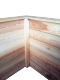 Hochbeet klein Lärche 50 x 100 Höhe 44 - Lärchenholz