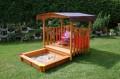 Gaspo Spielhaus mit Sandkasten